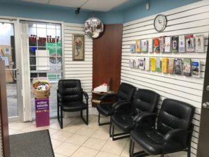 Valley Way Pharmacy in Niagara Falls, Waiting room